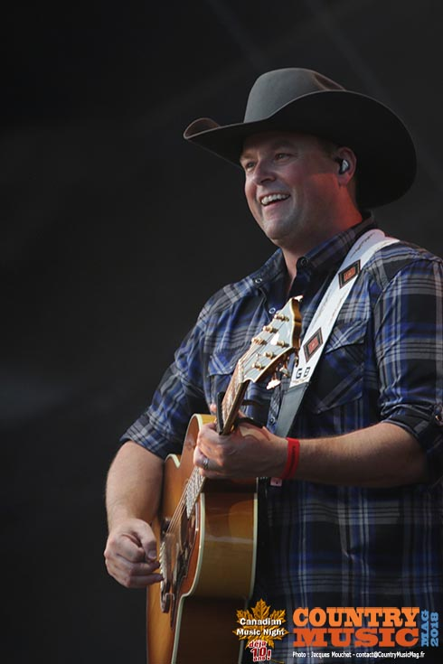 Gord Bamford at 10th Canadian Night, France