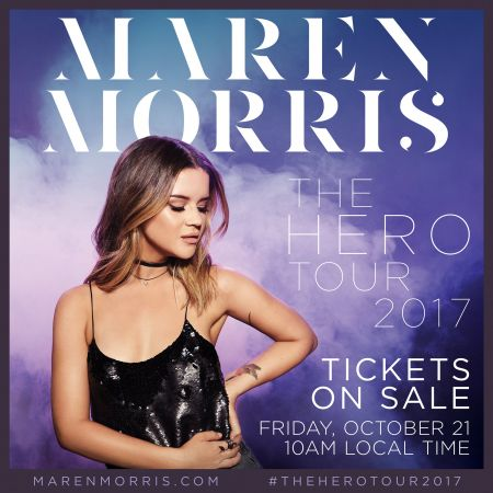 Maren morris Hero european Tour